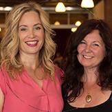 Photo of Glenda Myles and Susan Dawson