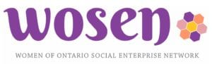 Women of Ontario Social Enterprise Network (WOSEN) logo