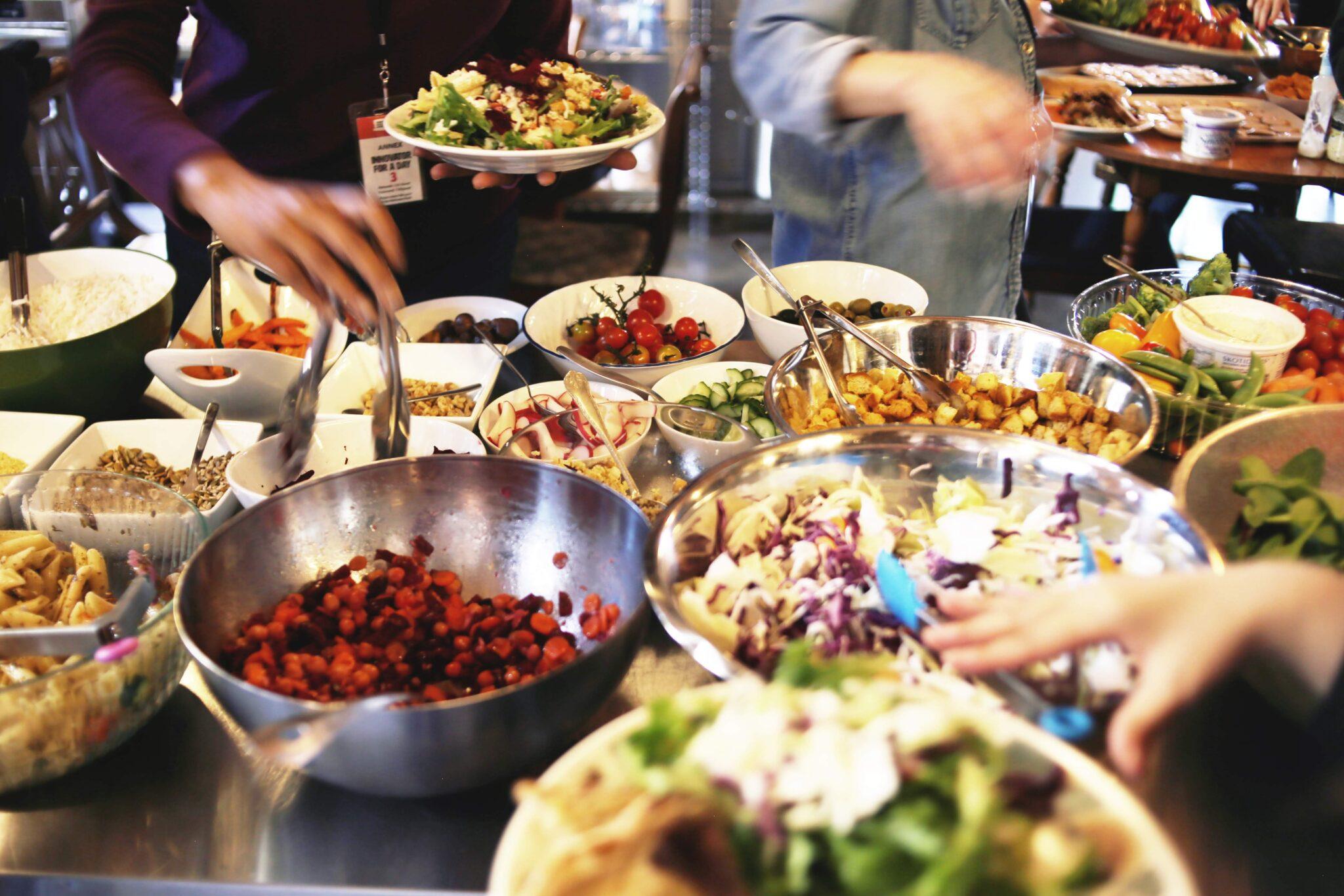 Salad Club at CSI Annex
