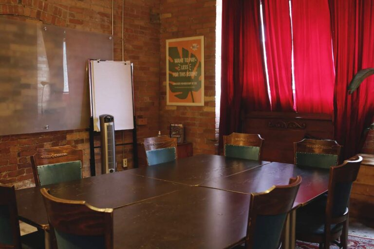 June's Room, a meeting room on the ground floor of CSI Annex