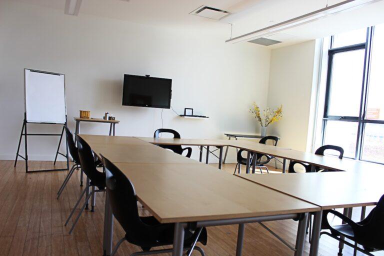 Orange Classroom, a meeting room in CSI Regent Park