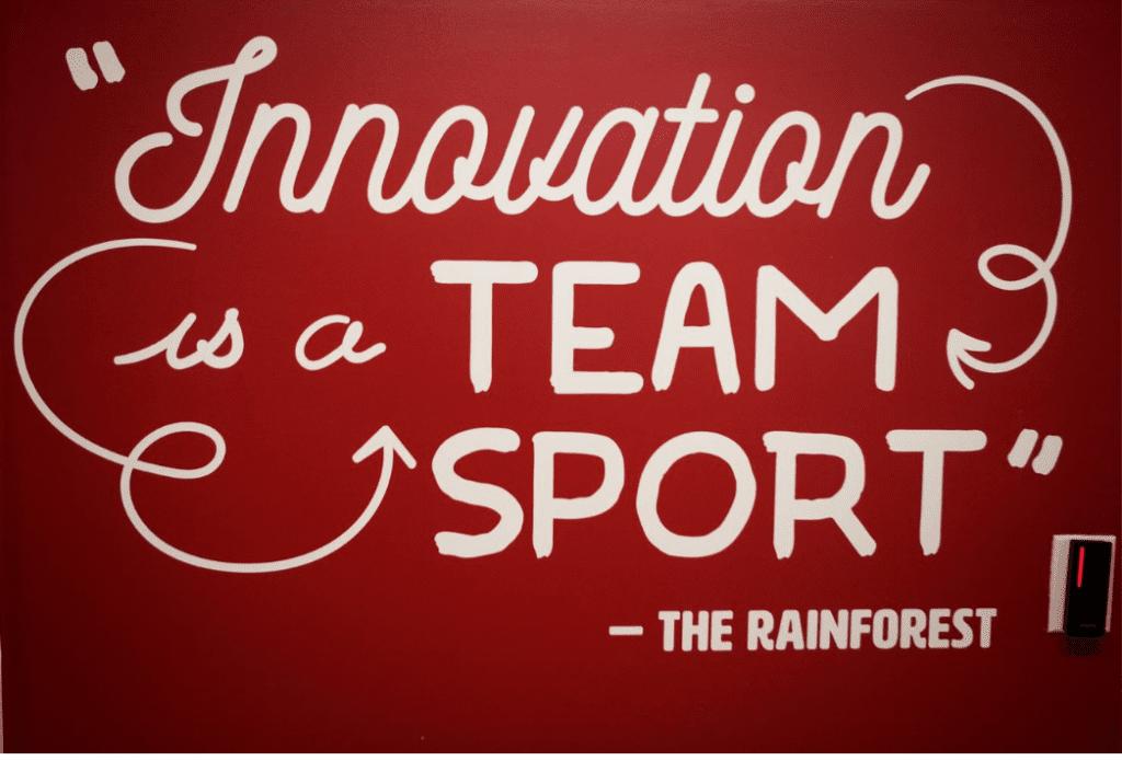 Innovation is a team sport.