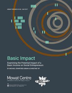 Basic Income and Social Entrepreneurship Report