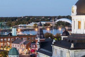 Overhead photo of City of Kingston